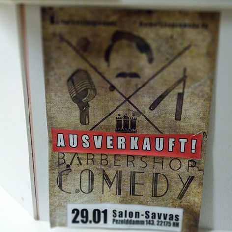 BARBERSHOP-COMEDY @ Salon Savvas | Hamburg | Hamburg | Deutschland
