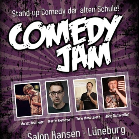 COMEDY JAM IN LÜNEBURG @ Salon Hansen | Lüneburg | Niedersachsen | Deutschland