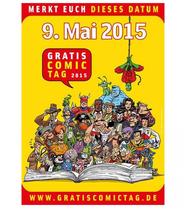 GRATIS-COMIC-TAG IN KASSEL @ Comic-Galerie  | Kassel | Hessen | Deutschland